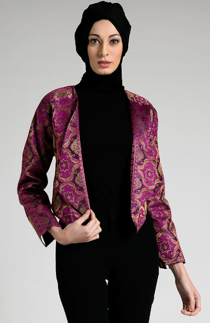 Baju Muslim Batik Modern