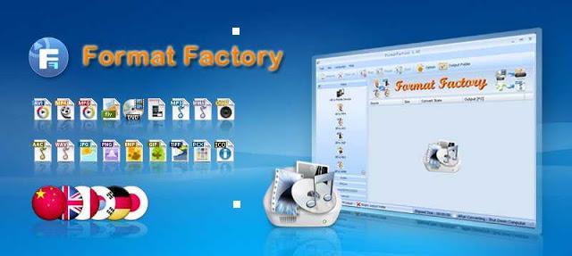 تحميل برنامج فورمات فاكتوري Format Factory 2016 للكمبيوتر
