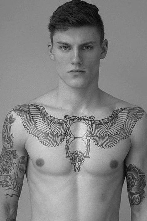 Chest unique Tattoos For Men