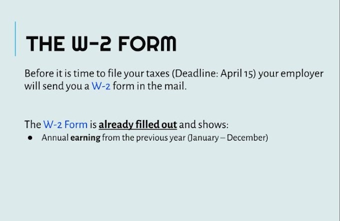 What is W to form means ?