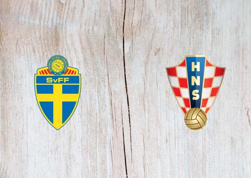 Sweden vs Croatia -Highlights 14 November 2020