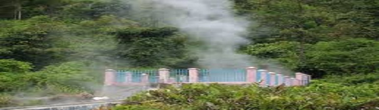 OBJEK WISATA PEMANDIAN AIR PANAS SAPAN MALULUANG KABUPATEN SOLOK SELATAN SUMATERA BARAT (SUMBAR)