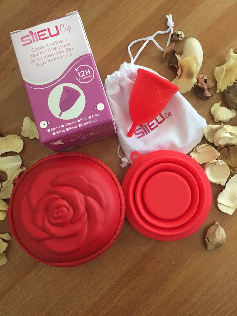 Copa menstrual Sileu Rose