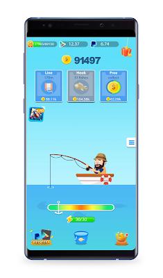 حصريآ اربح بطاقة Google play فئة 100$ +رصيد باي بال PayPal  عبر صيد السمك مع هذه اللعبة Royal Fishing الجديدة