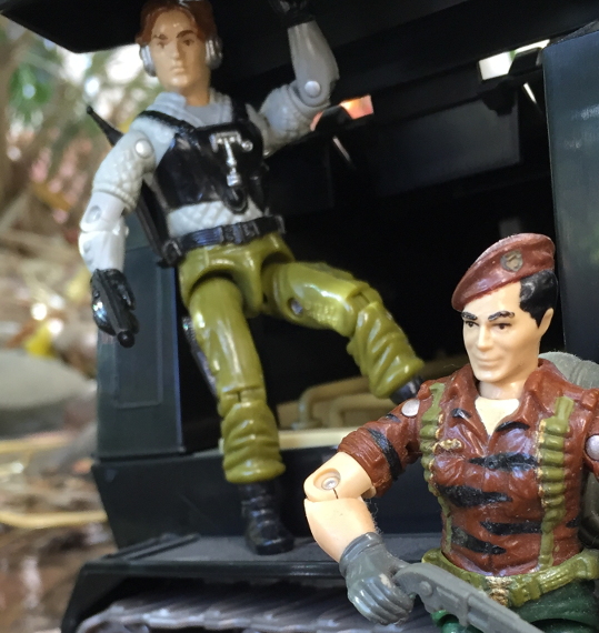 1988 Tiger Force Flint, Night Force Psyche Out, Super Trooper, Mail Away, Toys R Us exclusive, 2002 Night Rhino