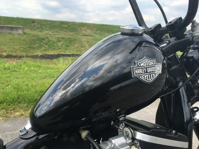 Harley Davidson Sportster By Gratia Industry Hell Kustom