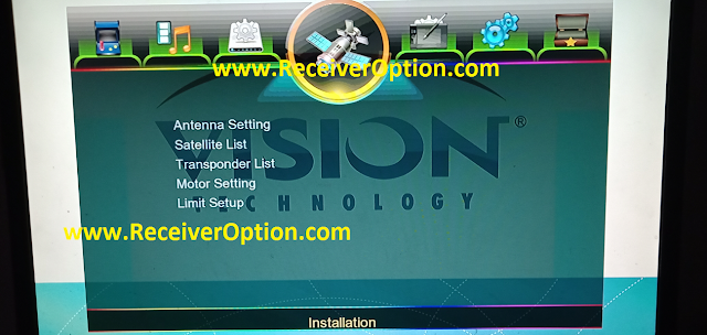 VISION PREMIUM II E507 1G 8M NEW SOFTWARE WITH ECAST & DIRECT BISS KEY ADD OPTION