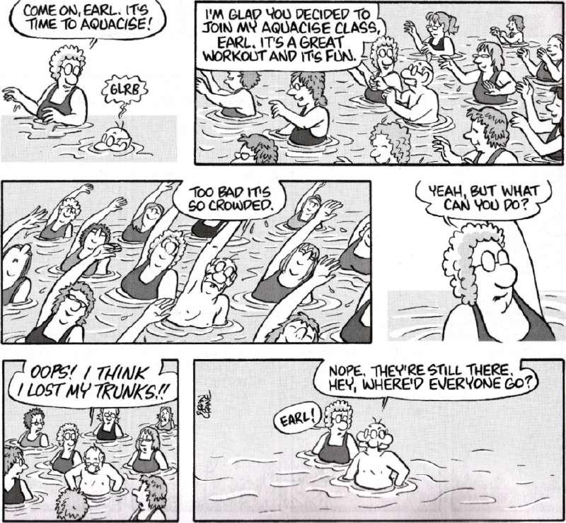 Comic strip was created by brian crane