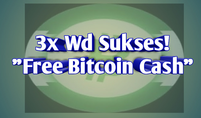 Apakah aplikasi free bitcoin cash scam?