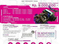 Robo Line Contest Elektro Unnes 2017