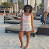 LIFESTYLES: Mercy Aigbe At The Beach In Dubai !