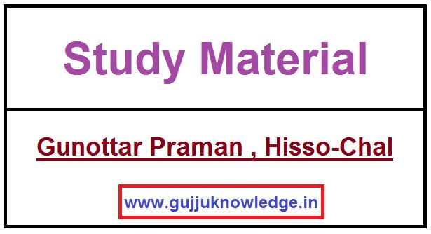 Gunottar Praman , Hisso-Chal