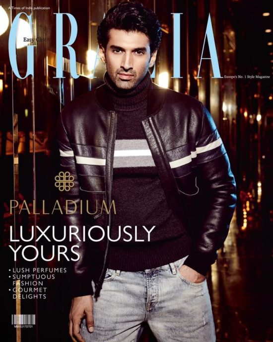 Aditya Roy Kapur On The Cover of Grazia Magazine India September 2017
