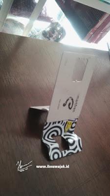 holder smartphone siap dipakai