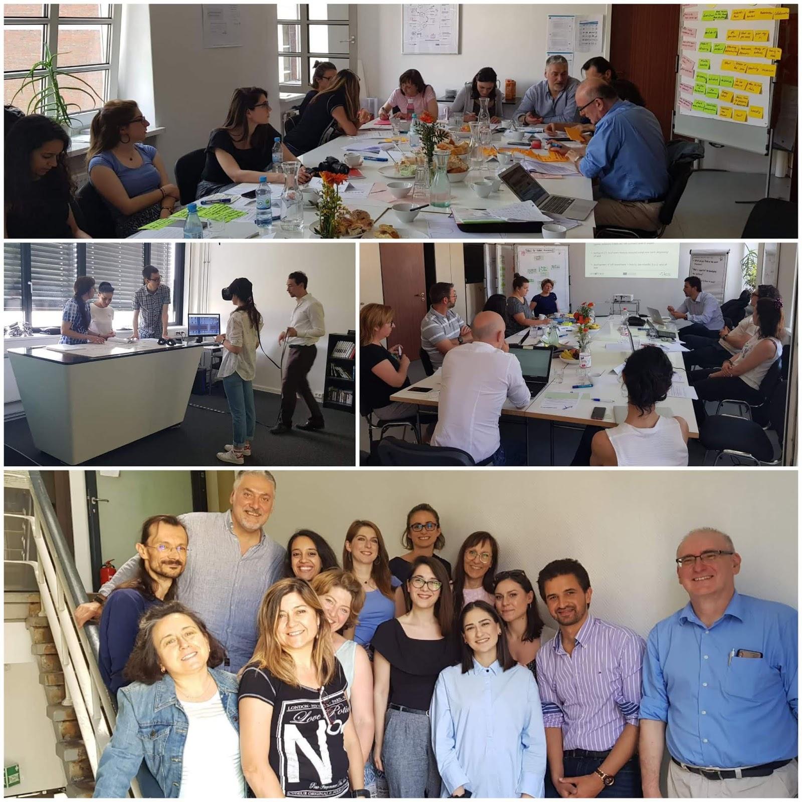 Σε συνάντηση εργασίας ο ΣΘΕΒ στο Βερολίνο στο πλαίσιο του Innotrain Erasmus+