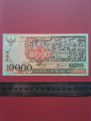 10000 rupiah tahun 1975