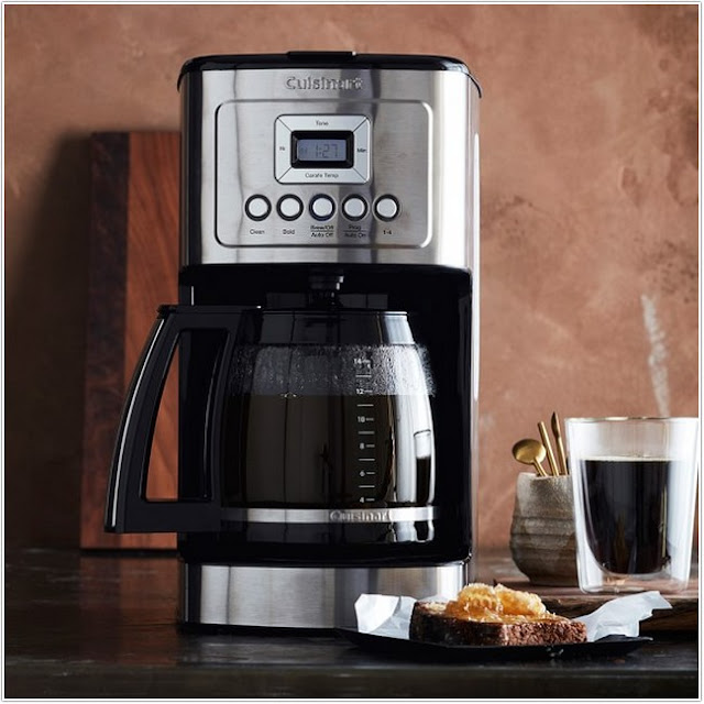 Cuisinart 14 Cup Programmable Coffee Maker;Cuisinart Perfectemp 14 Cup Programmable Coffee Maker With Glass Carafe;