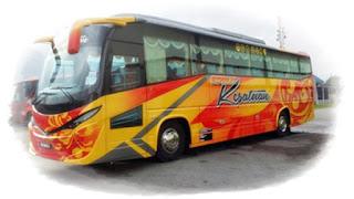 gambar bas sat tingkat Ekspress Kesatuan dari Malaysia
