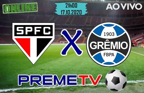 São Paulo x Grêmio Ao Vivo