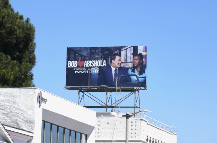 Bob Hearts Abishola CBS billboard