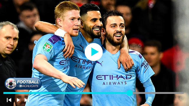 Manchester United vs Manchester City Highlights