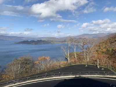 発荷峠から見る十和田湖その2