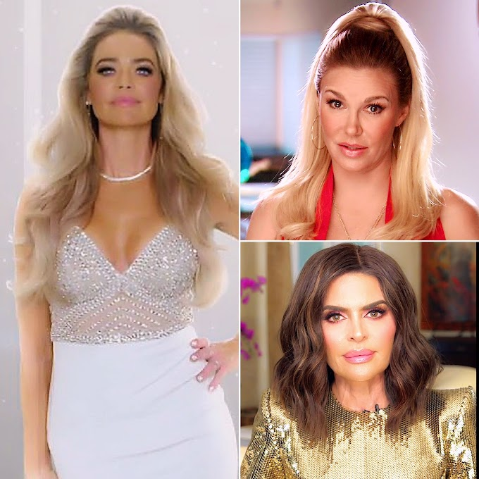 Denise Richards Reportedly Plans To Air Brandi Glanville And Lisa Rinna's 'Dirty Laundry' Following Her 'RHOBH' Exit!