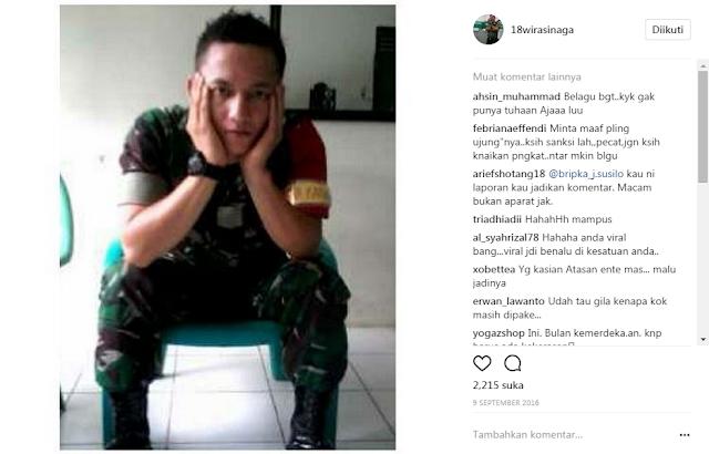 Akun Instagram Wira Sinaga Dibully Warga Internet