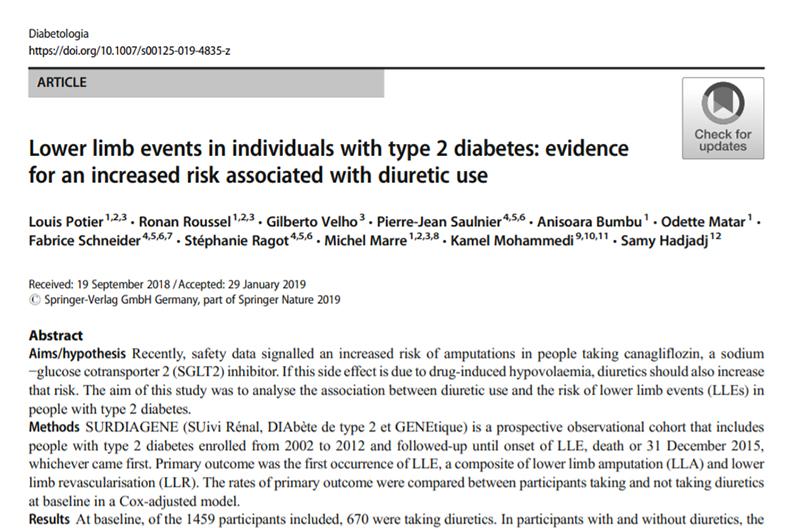 amputacion y diabetes