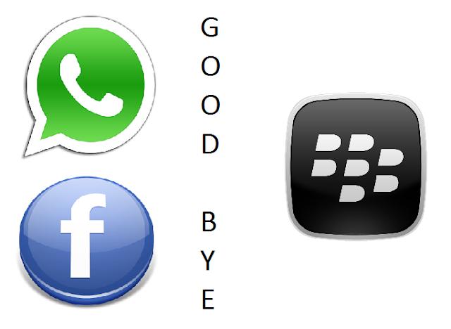 WhatsApp dan Facebook Meninggalkan Blackberry