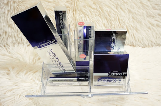 Enjoy the Benefits of Makeup and Skincare in one with NEW Céleteque DermoCosmetics - The Daily Posh | Life + Style + Travel & Leisure