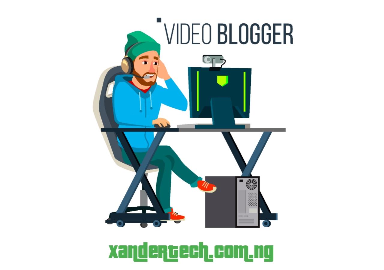 youtube blogging