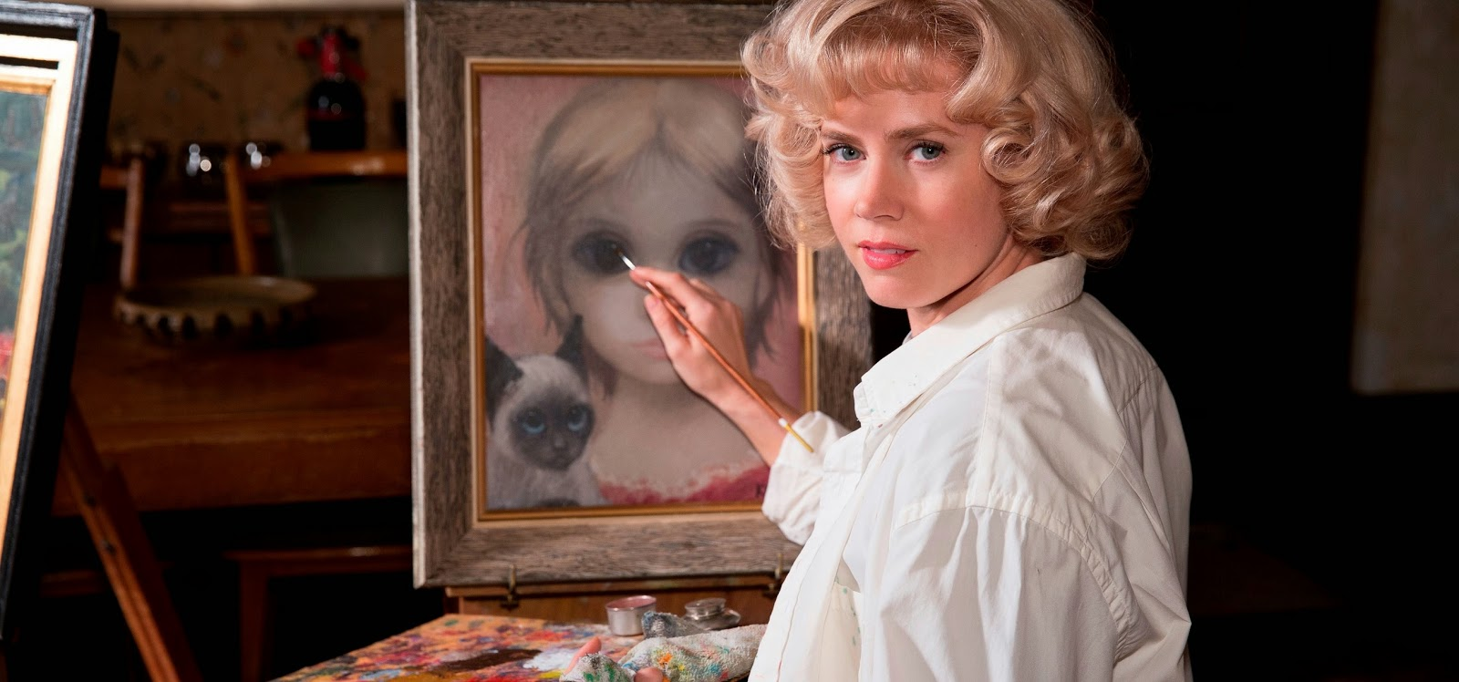 Big Eyes | Amy Adams e Christoph Waltz no trailer da cinebiografia dirigida por Tim Burton