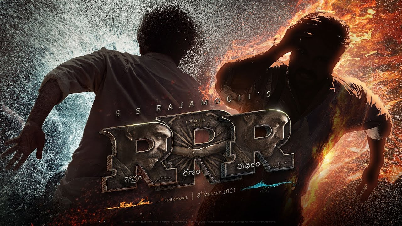 RRR Motion Poster with a massive Grand Look