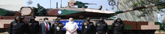 PM Modi Hands Over Arjun Main Battle Tank (MK-1A) To Indian Army In Chennai