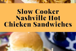 Slow Cooker Nashville Hot Chicken Sandwiches