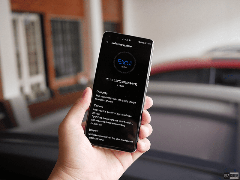 Huawei P40 Pro receives camera update and Android's April security patch