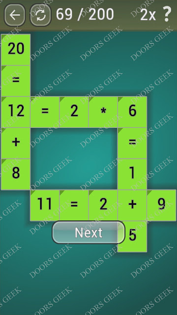 Math Games [Beginner] Level 69 answers, cheats, solution, walkthrough for android