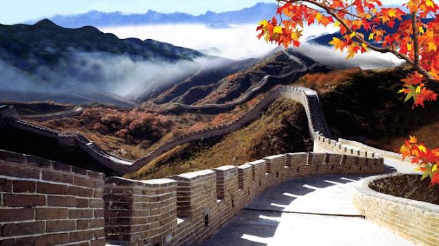 keajaiban dunia tembok besar china