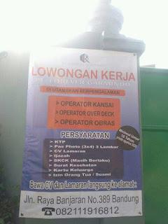 Lowongan Kerja PT FOREVER GARMINDO di Bandung Juli 2020