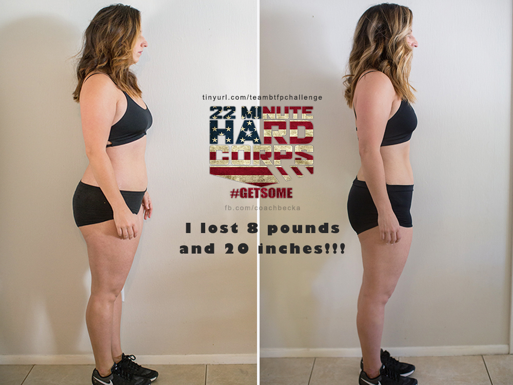 22 minute hard corps before after results