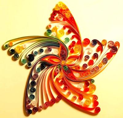 Seni Kreatif Dari Gulungan Kertas - Paper Quilling