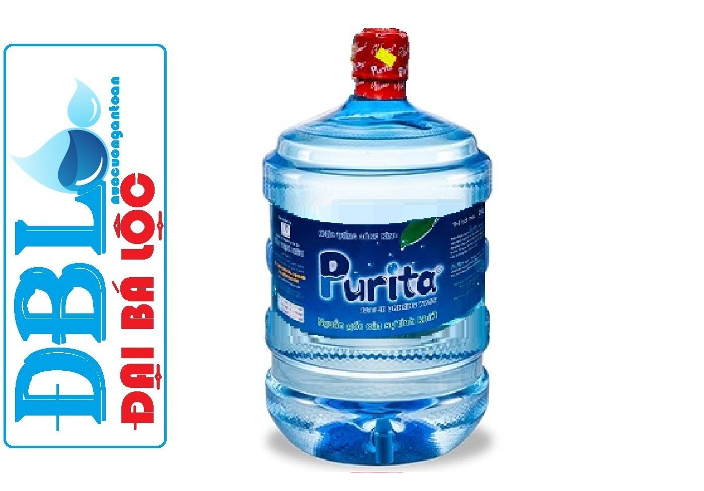 nước uống tinh khiết purita bình 20 lít