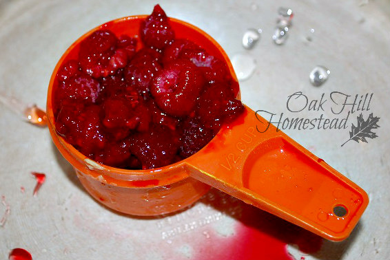 Triple berry jam tastes like sunshine and summer on a slice of homemade bread. From Oak Hill Homestead