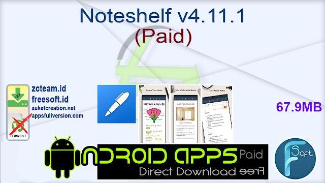 Noteshelf v4.11.1 (Paid)