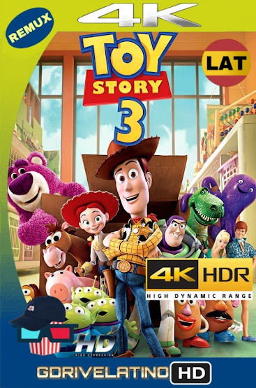 Toy Story 3 (2010) REMUX 4K HDR Latino-Ingles MKV