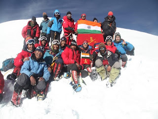 Indian Army Mountaineering Expedition to Mt Kun
