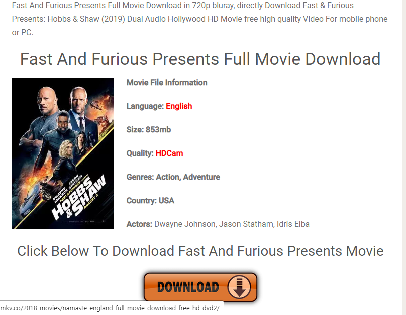 download free movies fast online