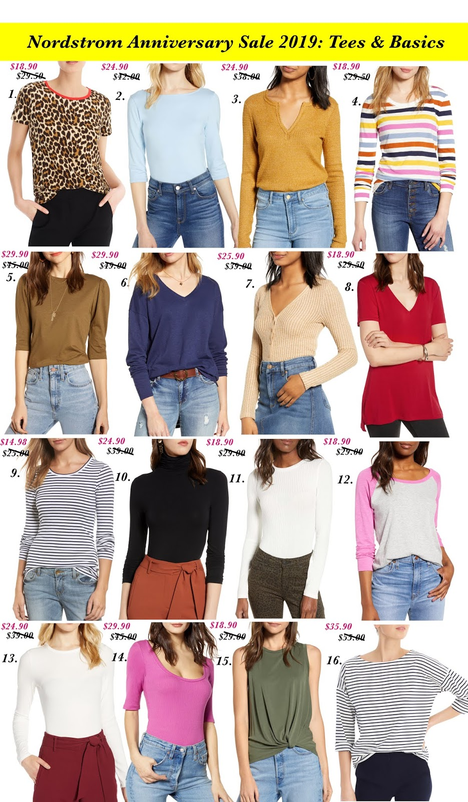 Nordstrom Anniversary Sale 2019: Favorites in Every Category for Women + a Giveaway!! - Something Delightful Blog