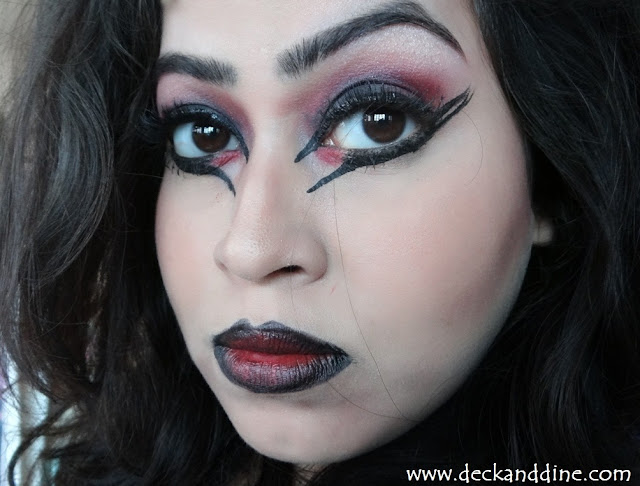 Easy Halloween Witchcatwitch Makeup Tutorial Deck And Dine